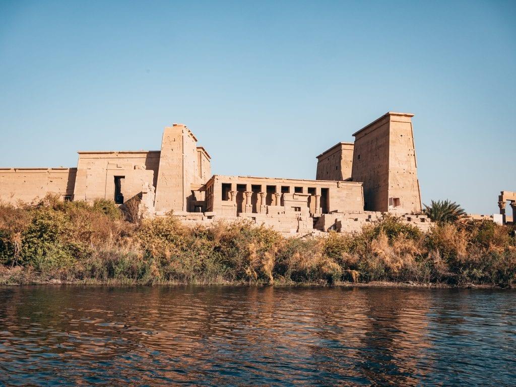 uno de los templos del crucero por el Nilo