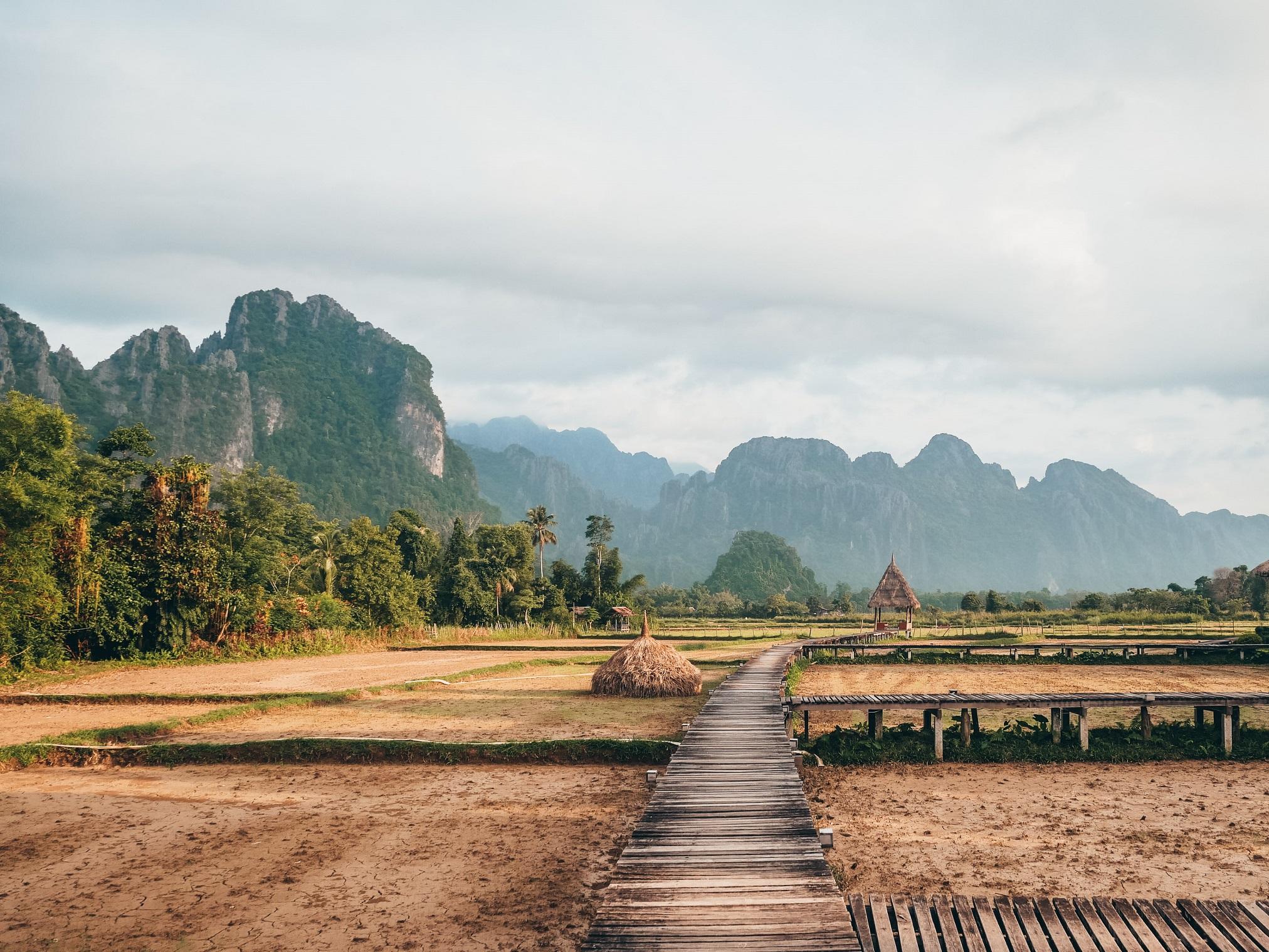 Ruta por el Norte de Laos
