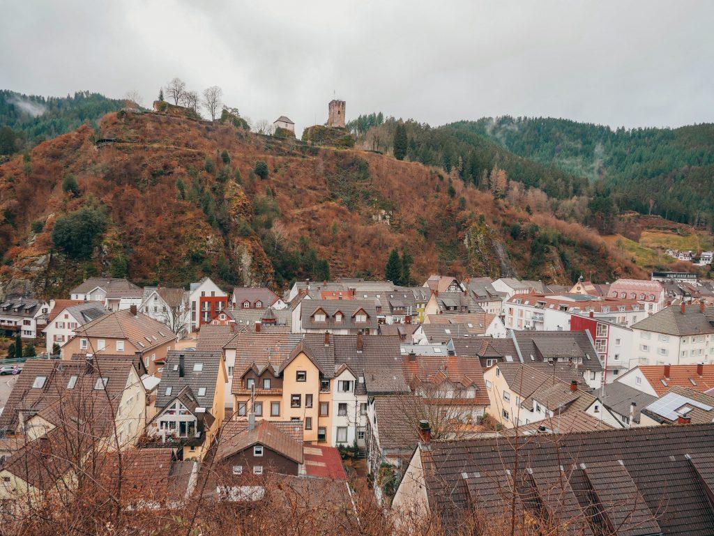 panoramica de la ciudad de Hornberg