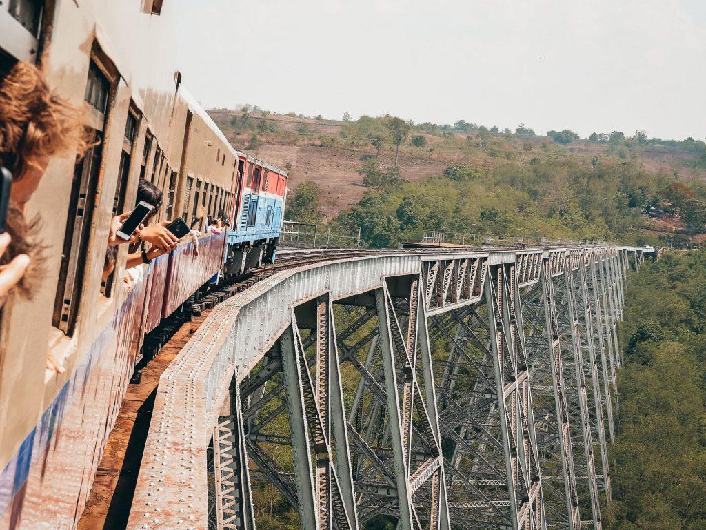 Viaducto de Gokhteik en Myanmar