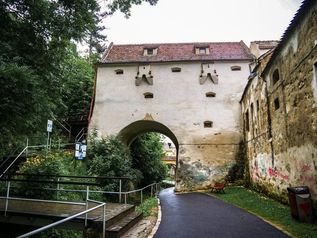 puerta fortificada de Brasov