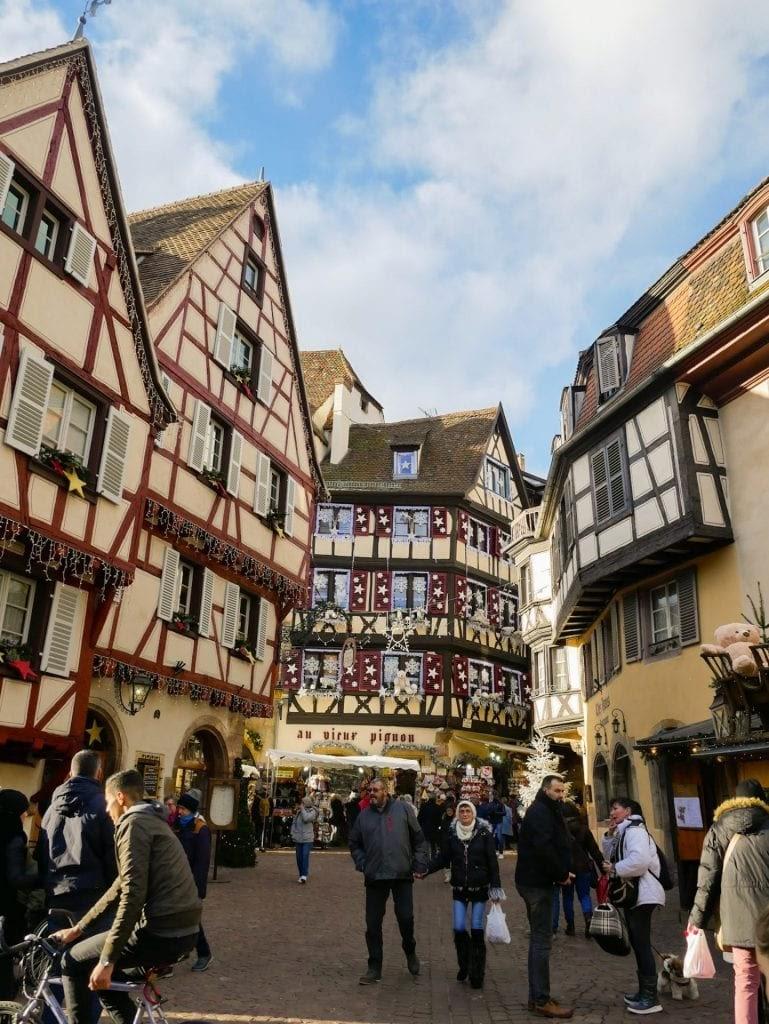casas del centro histórico del Colmar