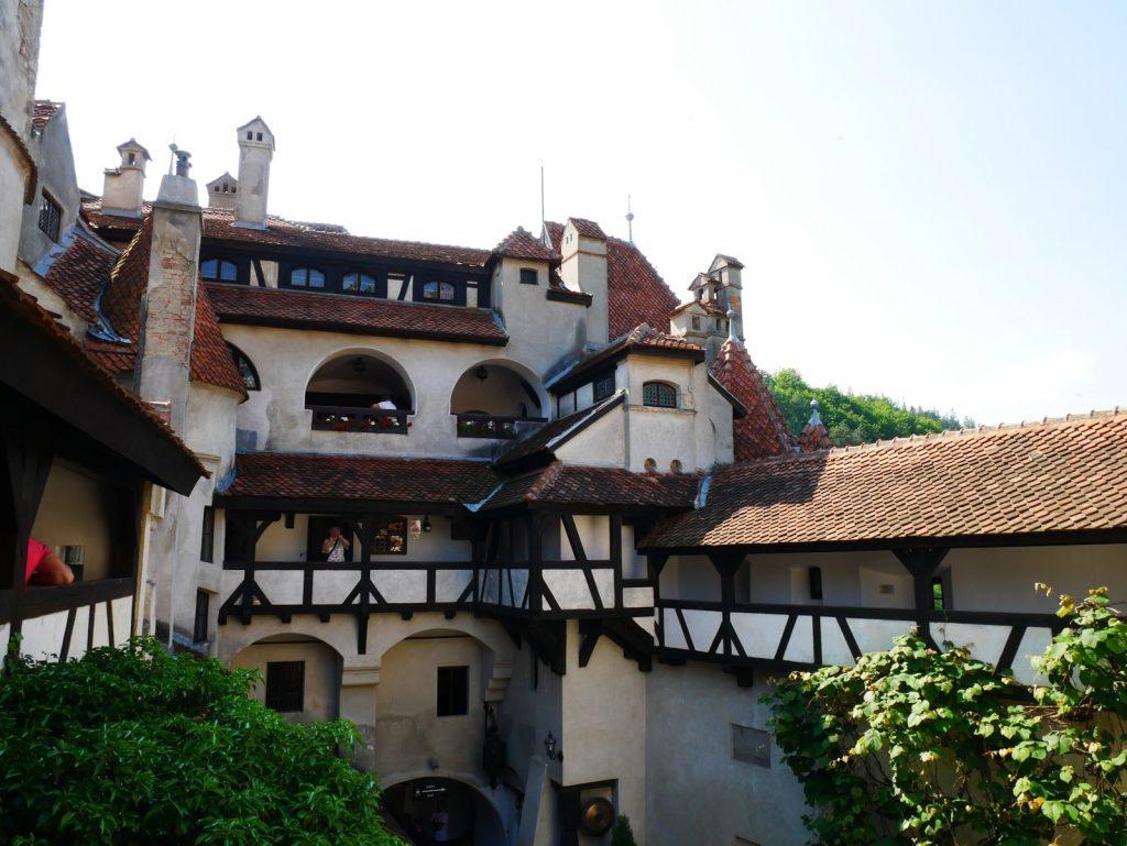 castillo de Bran por dentro