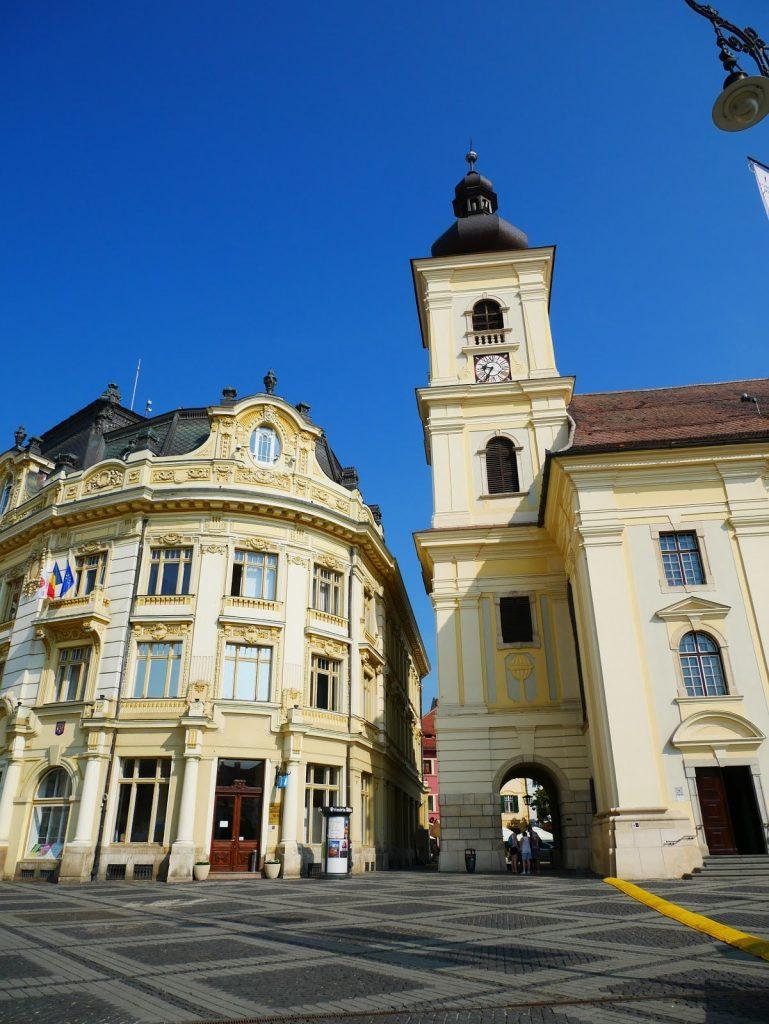 plaza principal de Sibiu