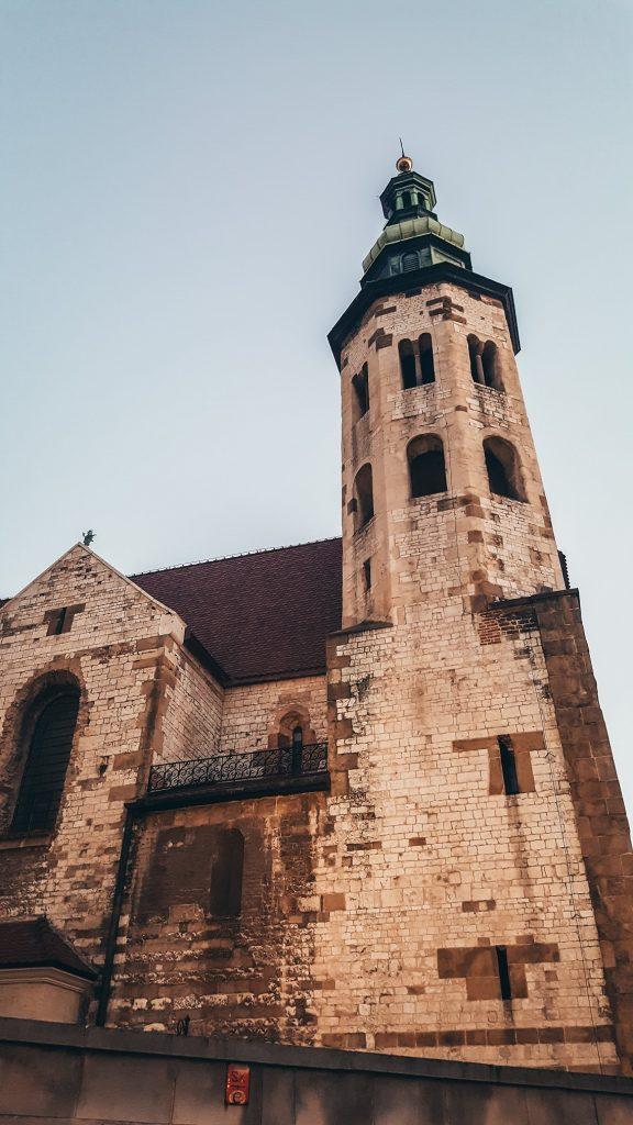 edificaciones de la ciudad de Cracovia en Polonia