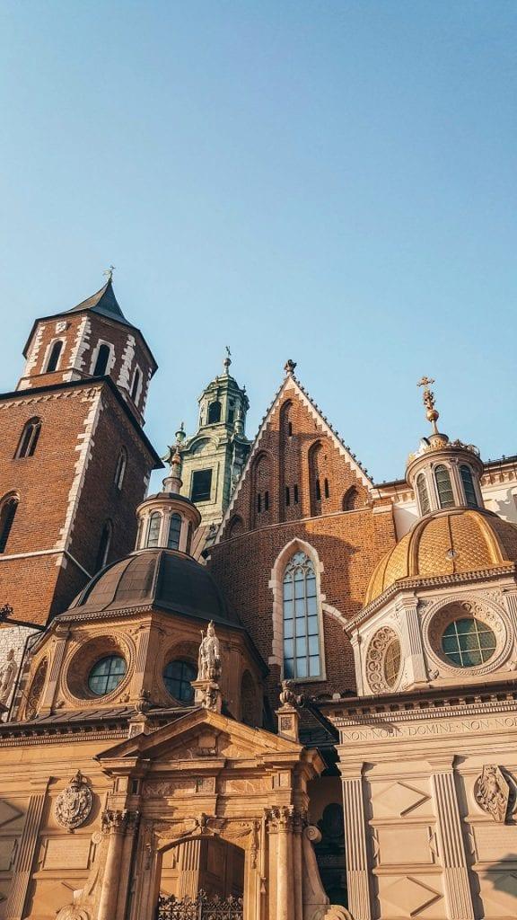 Castillo de Wawel de Cracovia