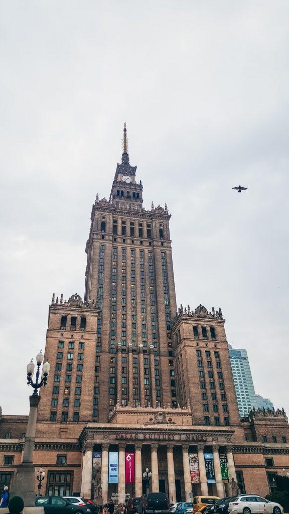 palacio de cultura y kla ciencia en Varsovia