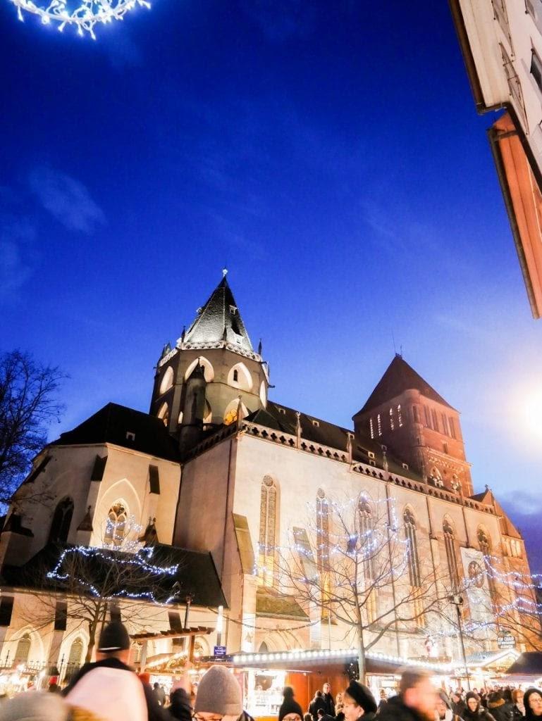 iglesia de estrabusgo que ver en el Colmar