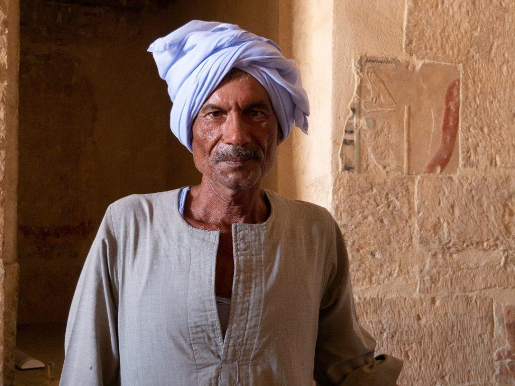 retrato de un egipcio