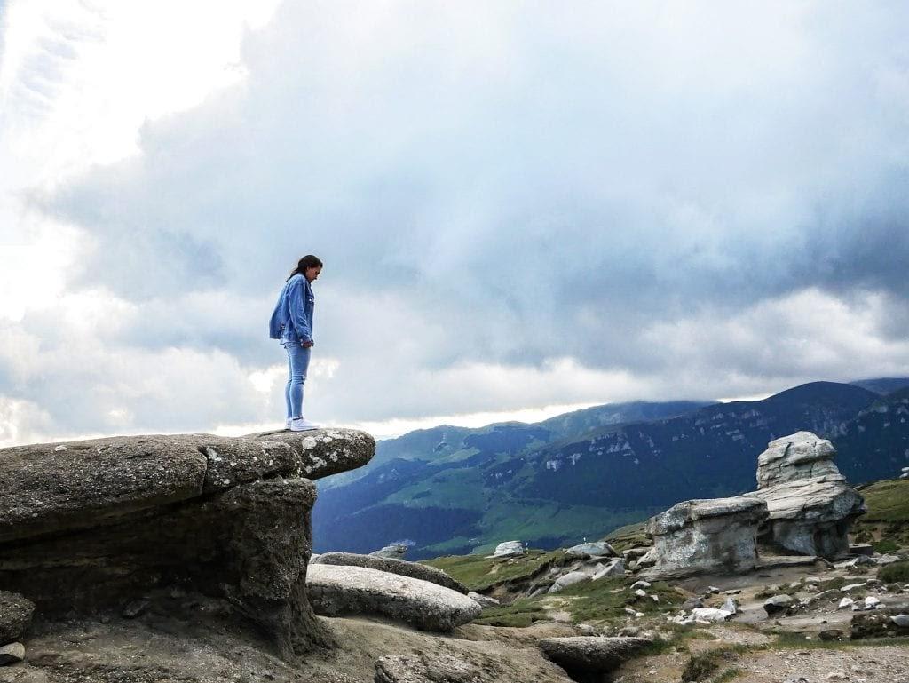 babele y la esfinge en Parque nacional de Bucegi