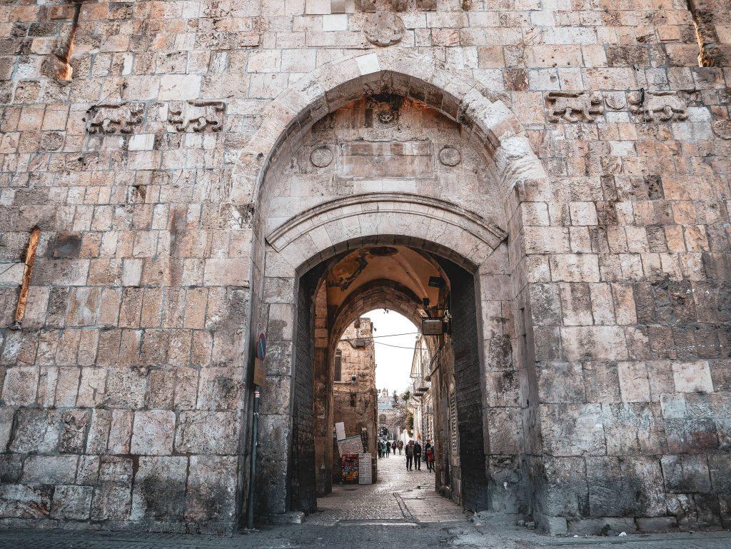 puerta de sion en jerusalén
