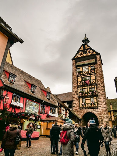 torre del reloj de Riquewihr