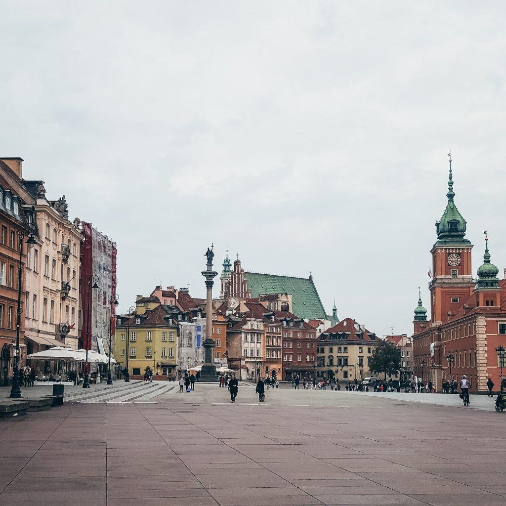 plaza Zamkowy en Varsovia