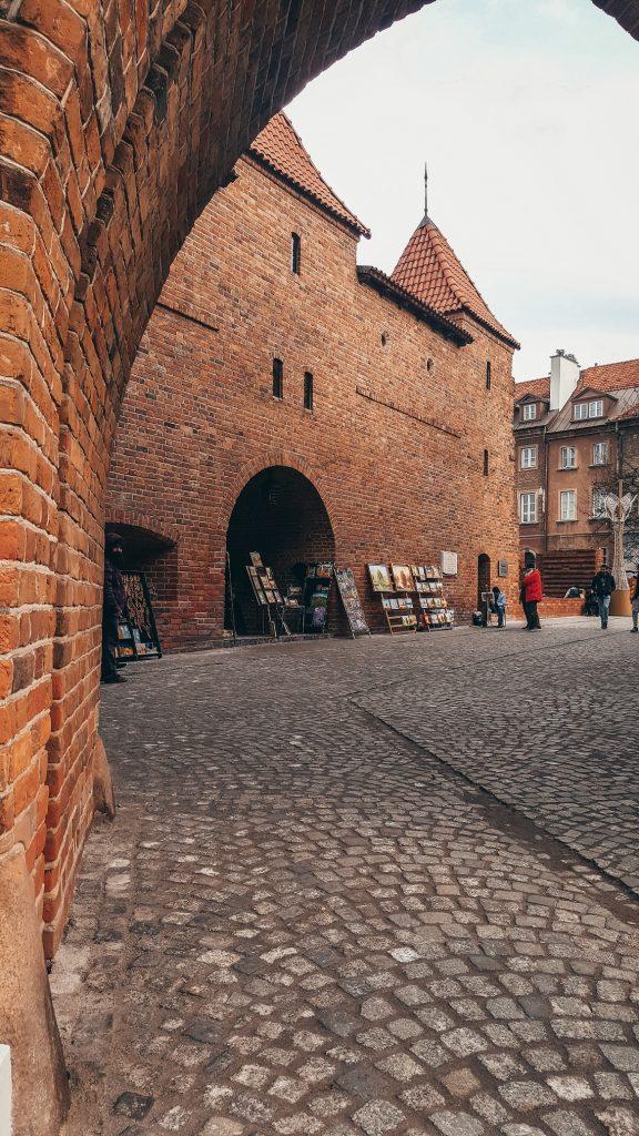 barbacana de Varsovia en Polonia