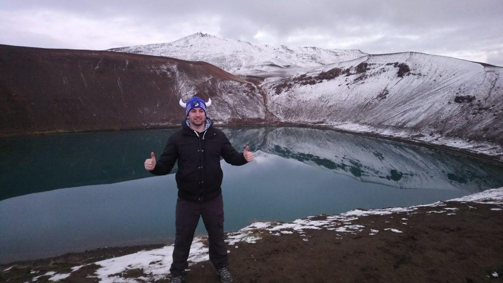 laguna de Myvatn